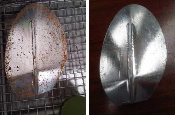 pulizia ad ultrasuoni in alluminio