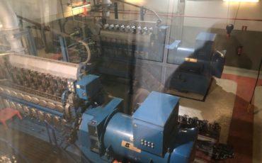 pulizia ad ultrasuoni di motori per generare energia